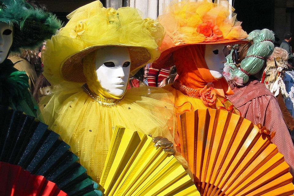 2017年のヴェネツィアのカーニバルの様子