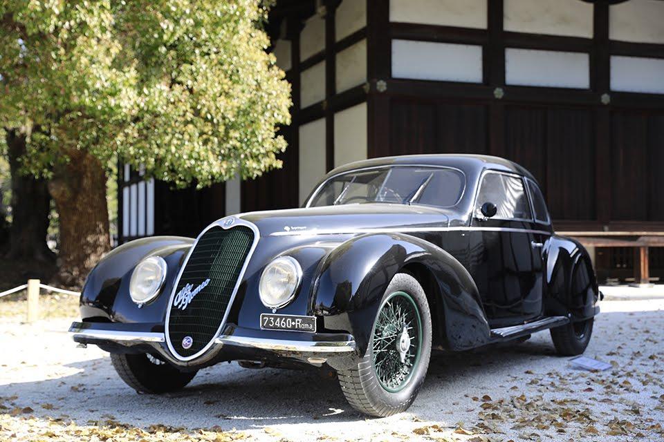 「1939年 アルファロメオ 6C 2500SS スポーツベルリネッタ」