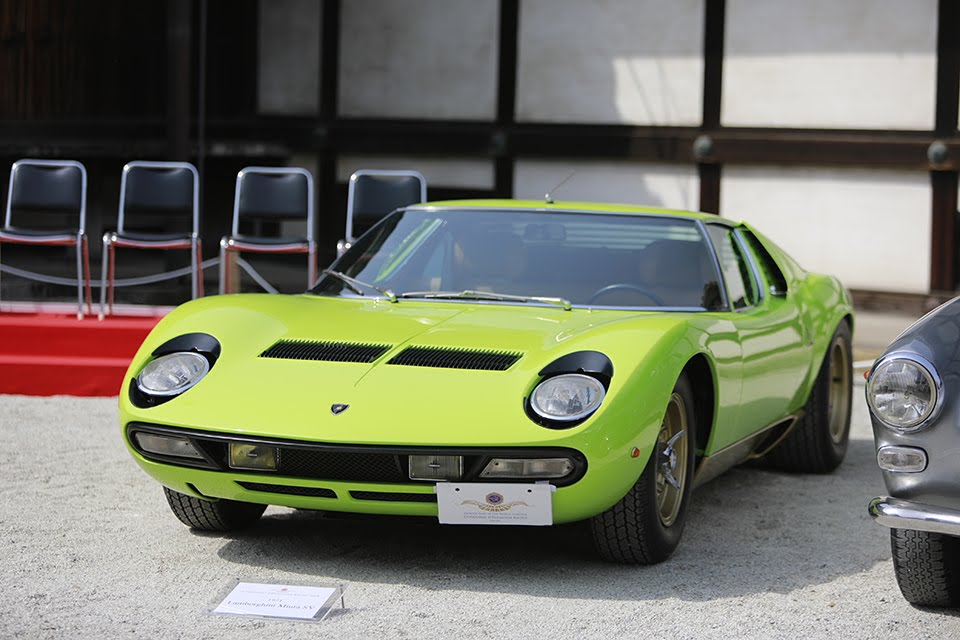 「1971年 ランボルギーニ・ミウラSV」