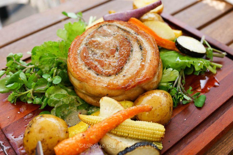 サリーヒルズで提供される料理の写真