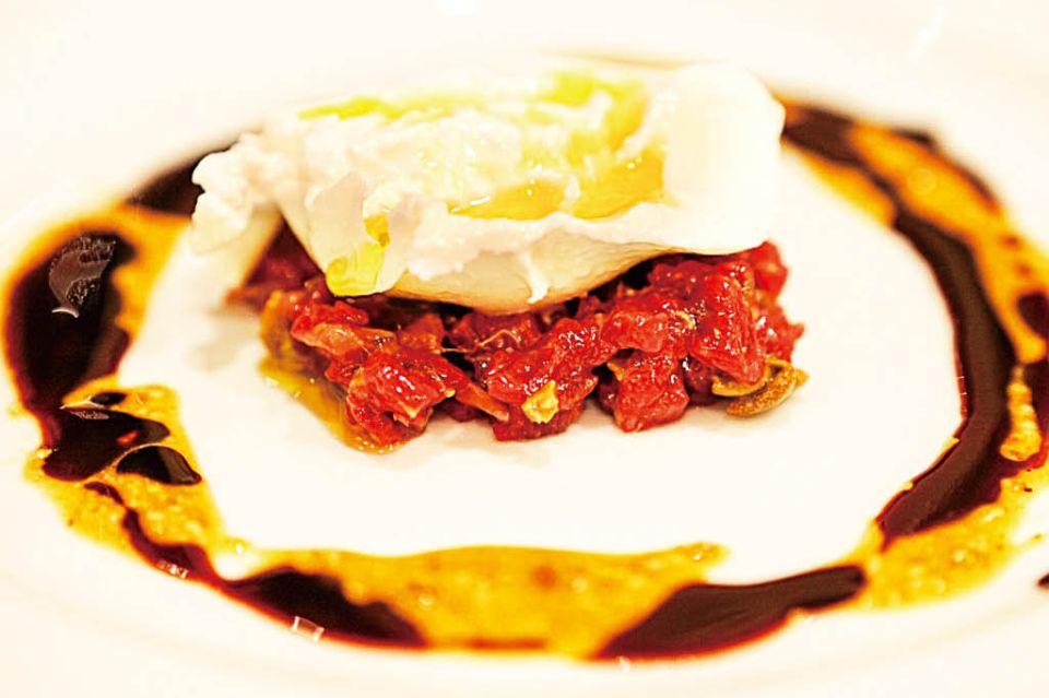 ピッツェリア恭子で提供される料理の写真