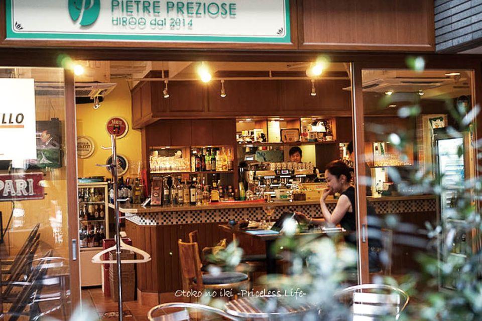 ピエトレ・プレツィオーゼの店の外観