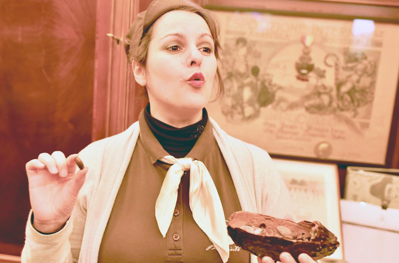 モディカの歴史とモディカ・チョコレートの歴史を丁寧に教えてくれるイタリア人