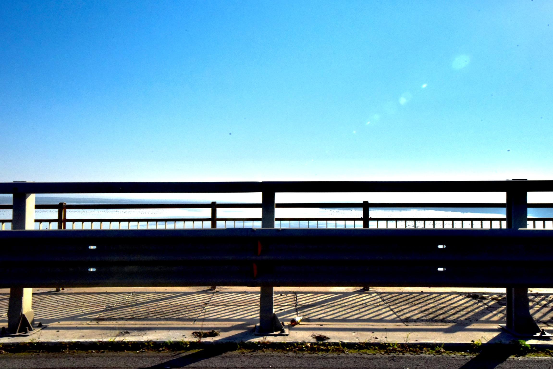 レッジョ・ディ・カラブリアの海沿い道路