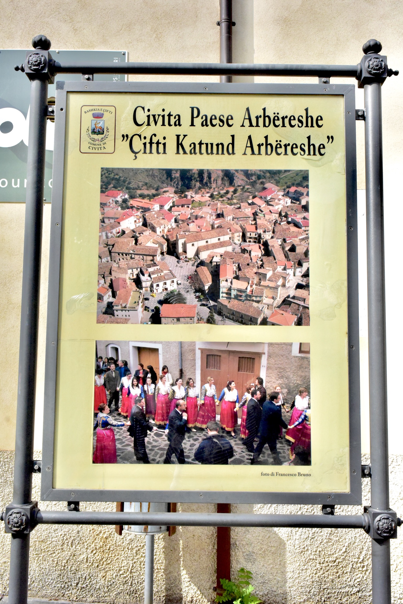 イタリアにはアルブレッシュの集落が約50ある