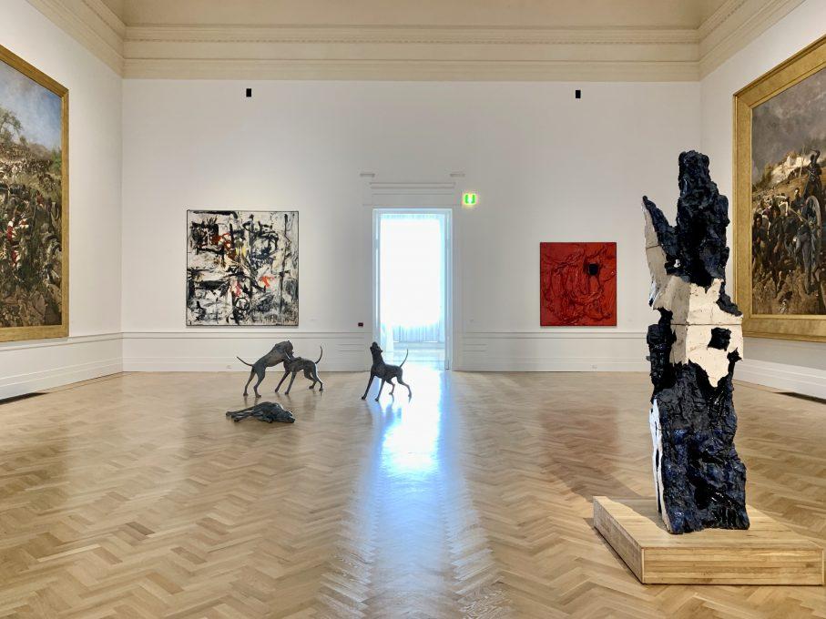 ローマ近代国立美術館では、広いスペースを生かし、一つ一つの作品、また作品同士の対話や調和を感じながら、一つ一つの部屋をゆったりと各作品を鑑賞できる
