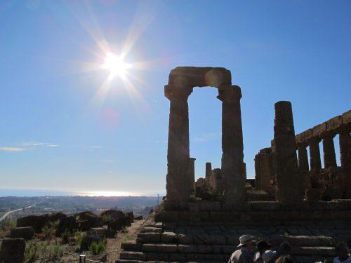 アグリジェント遺跡などシチリアには観光名所がたくさん