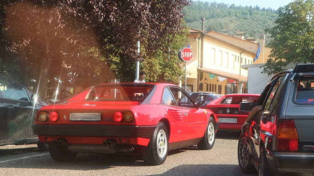 イタリア・トスカーナのフェラーリオーナーズクラブのミーティングに参加