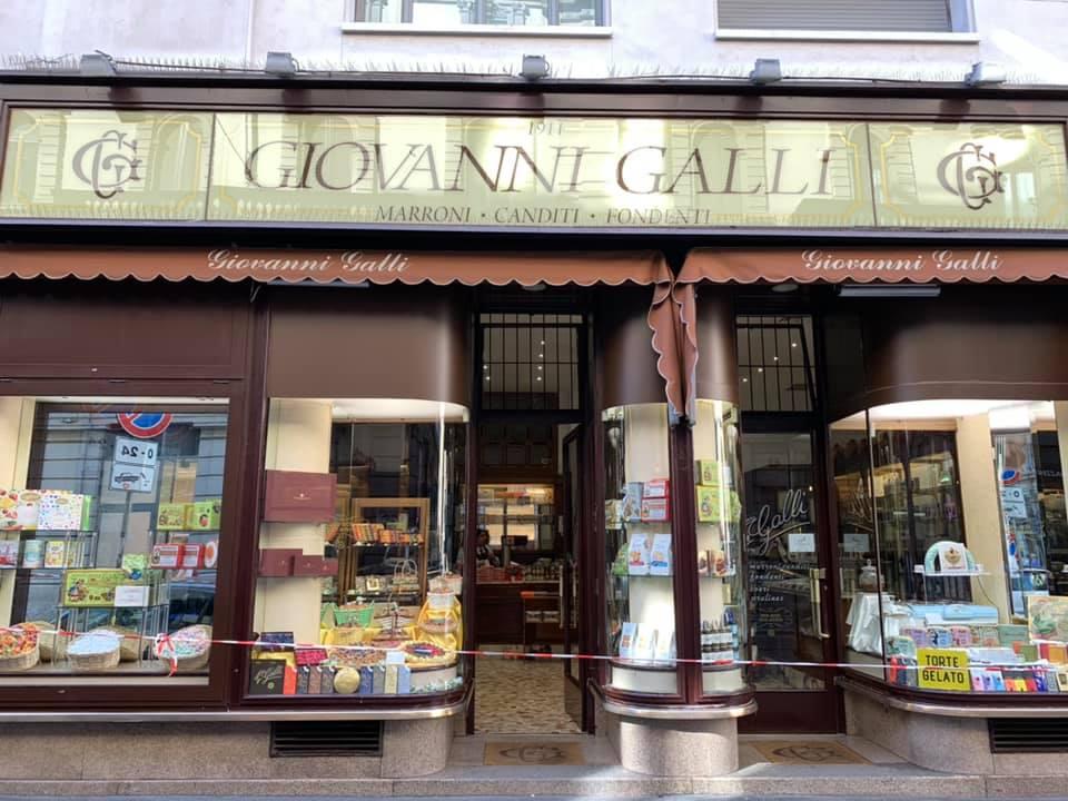 1911年創業の歴史あるマロングラッセの店「ジョバンニガッリ」