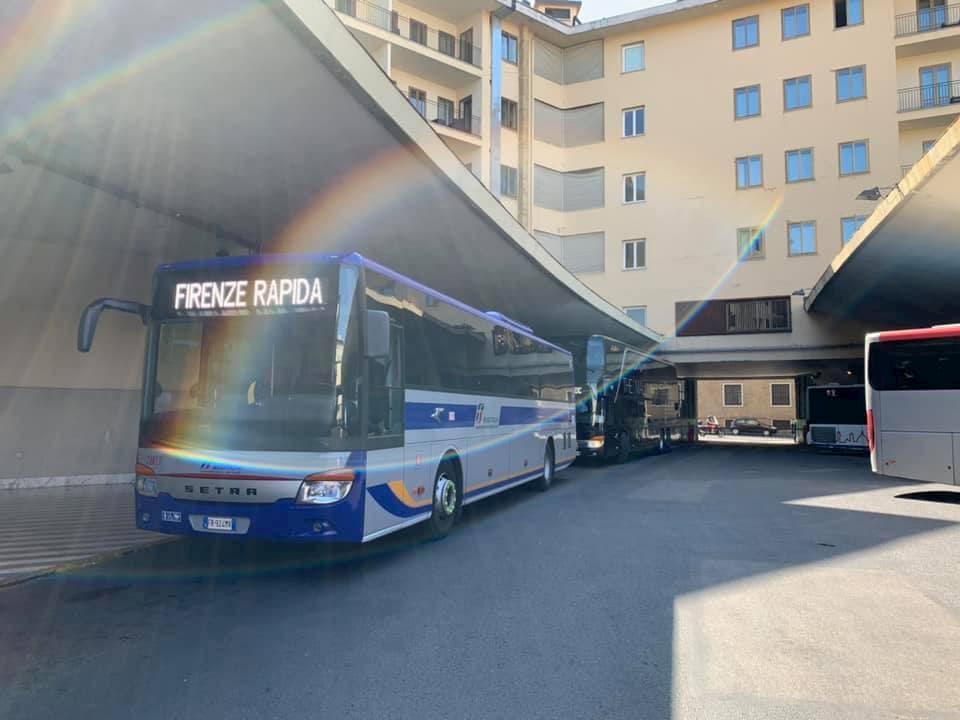 シエナへはフィレンツェからバスで行くのが便利です