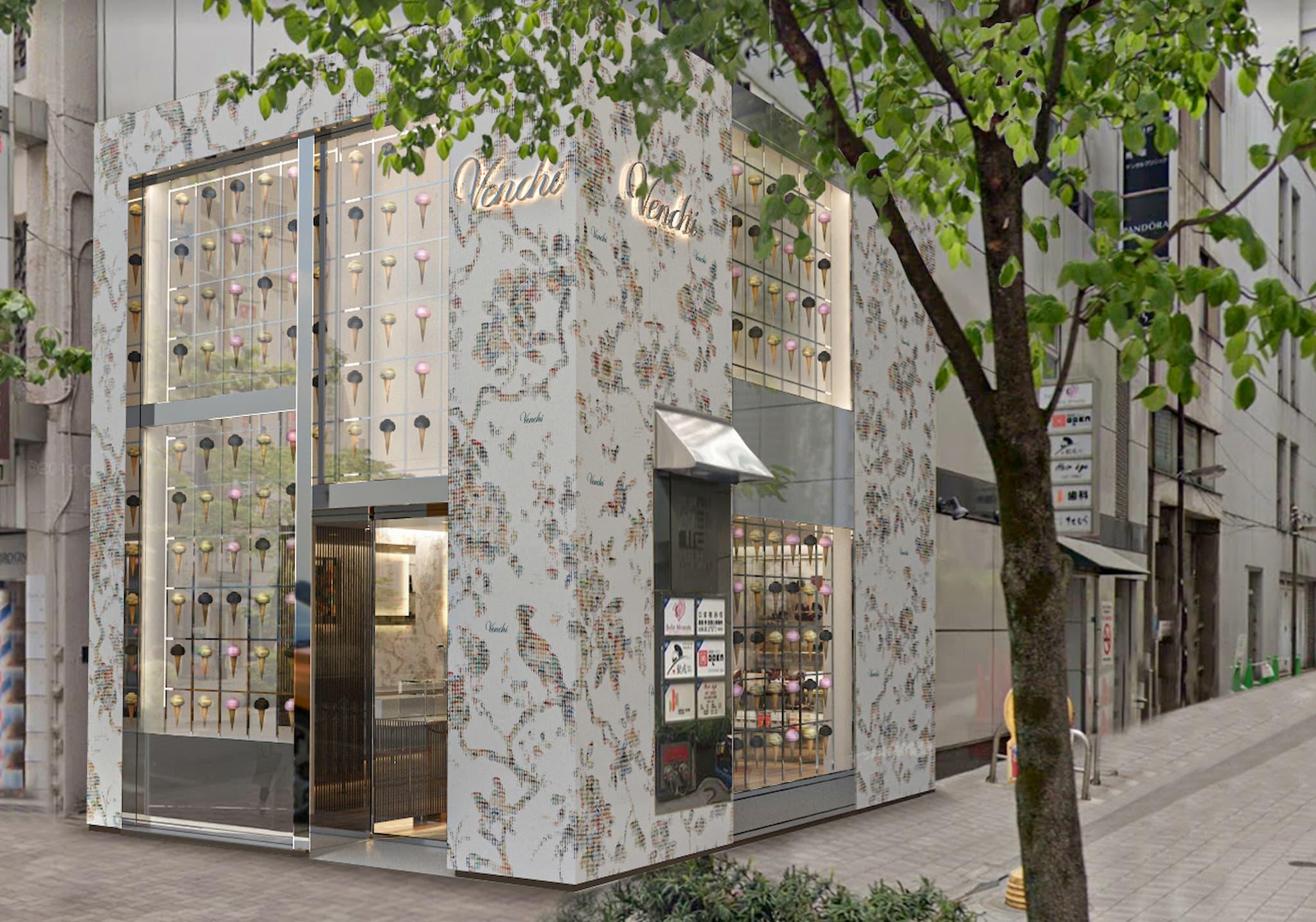 創業141年のチョコレート&ジェラート専門店「Venchi(ヴェンキ)」日本第一号店が銀座にやってきます!