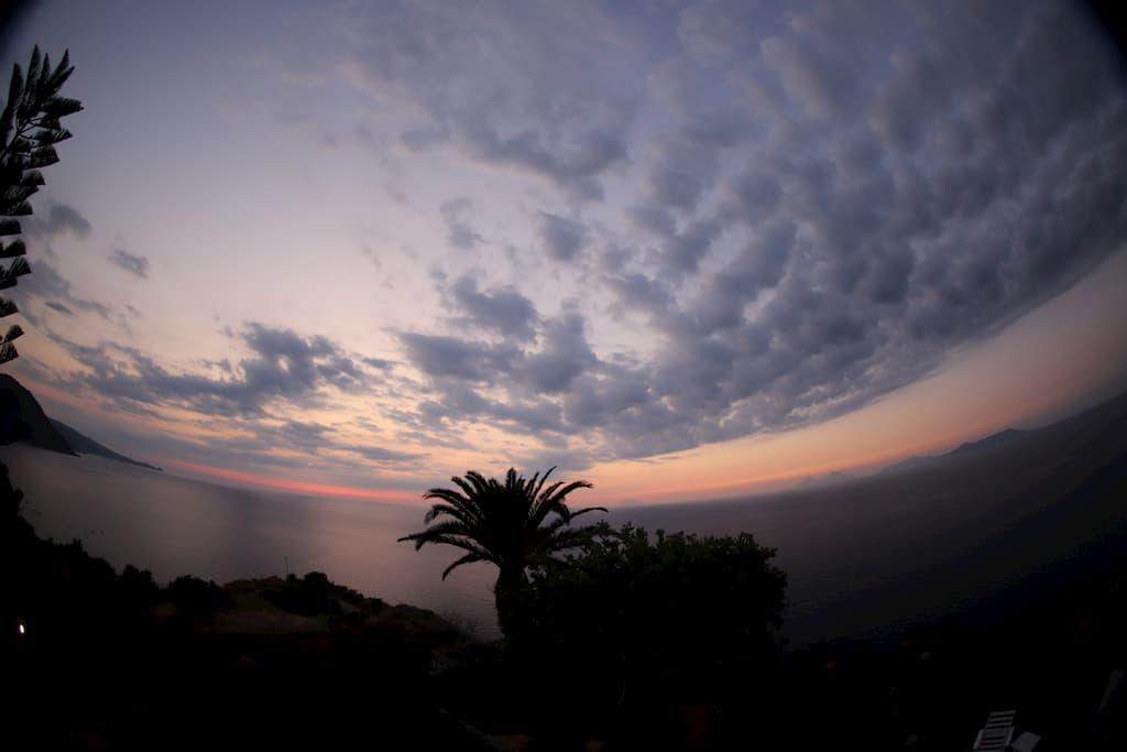 シチリアの夕日