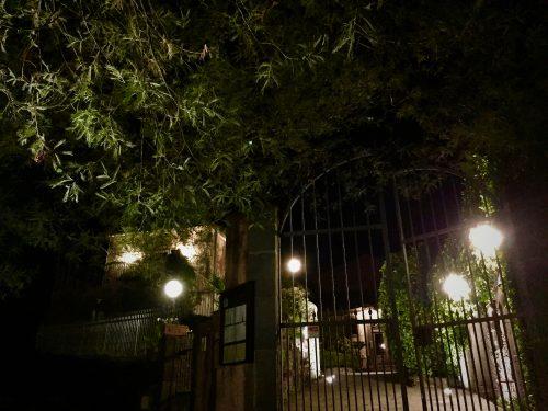 アグリツーリズモのレストラン「CASE PERROTTA(カーゼ・ペロッタ)」でのディナー