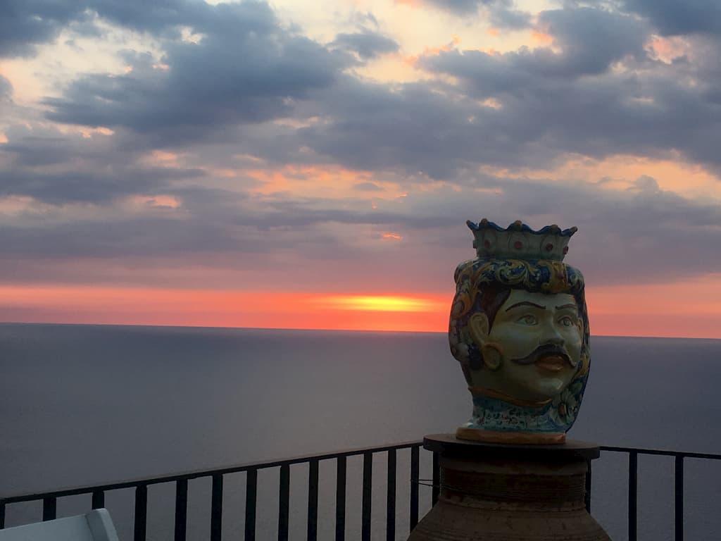 シチリアの海