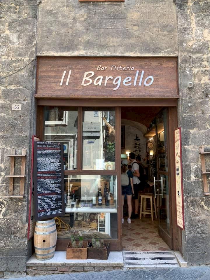 シエナのオステリアIL Bargello