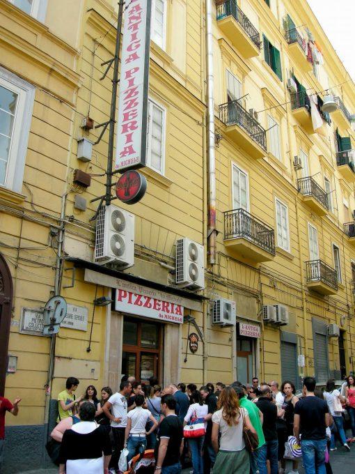 ナポリにある本店「L'Antica Pizzeria da Michele」