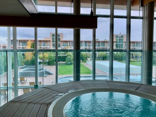 AQUALUX SPA HOTELのスパ施設の総面積はなんと1000㎡