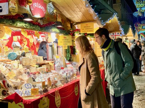 コモの街全体で開かれるクリスマスイベント、コモ チッタ・ディ・バロッキのクリスマスマーケット