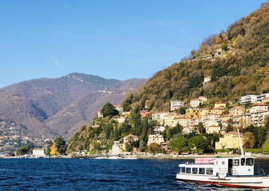 イタリアを代表する別荘地コモ湖畔