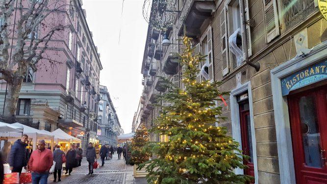 トリノのクリスマスマーケット
