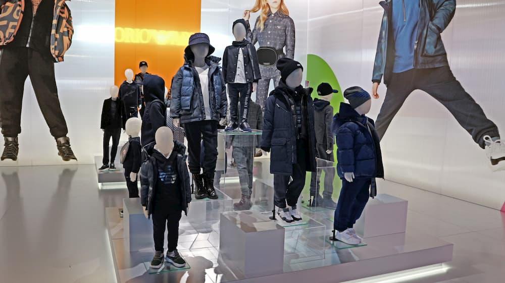 エンポリオ アルマーニ2020秋冬コレクションの子供服