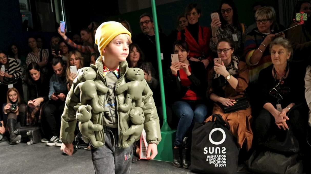 ベネトンの子供服の2020秋冬コレクション
