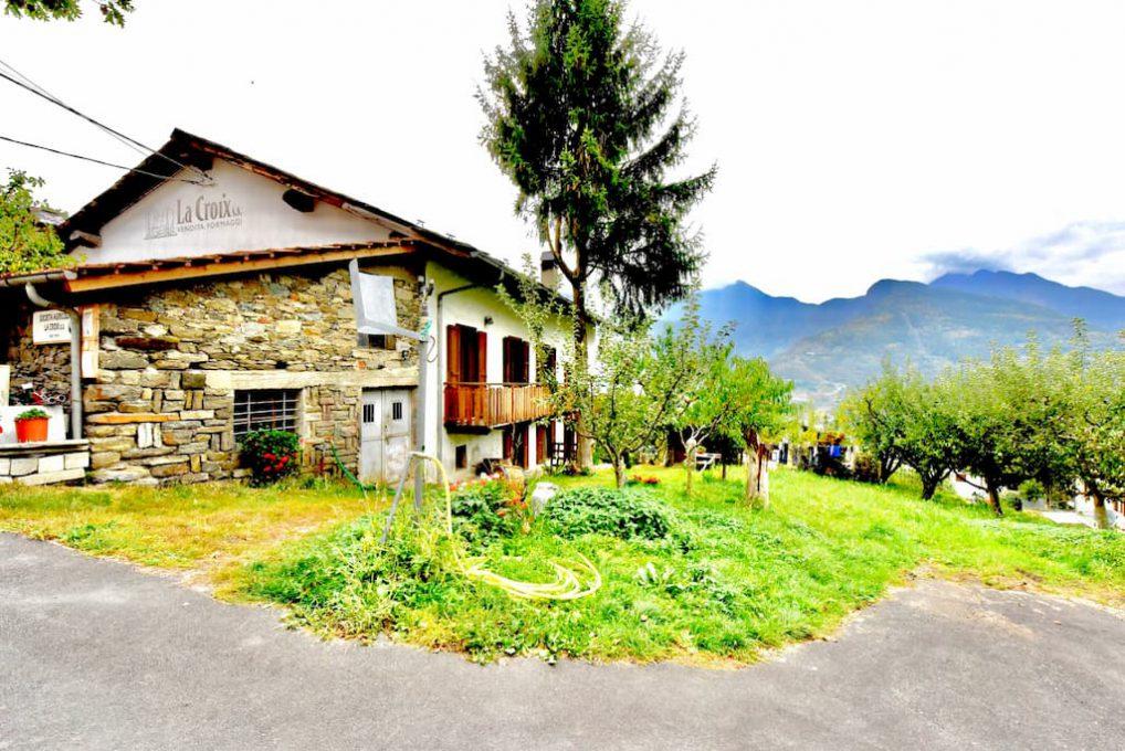 フォンティーナチーズ工房のL'Azienda Agricola La Croix