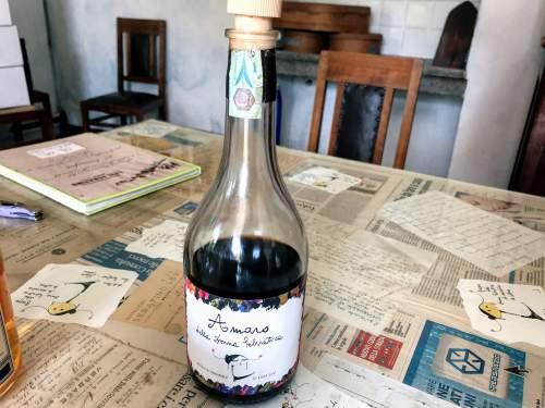 アマーロのボトル