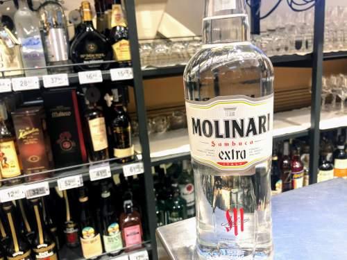 サンブーカのボトル