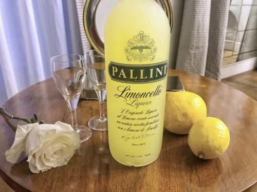 リモンチェッロのボトル