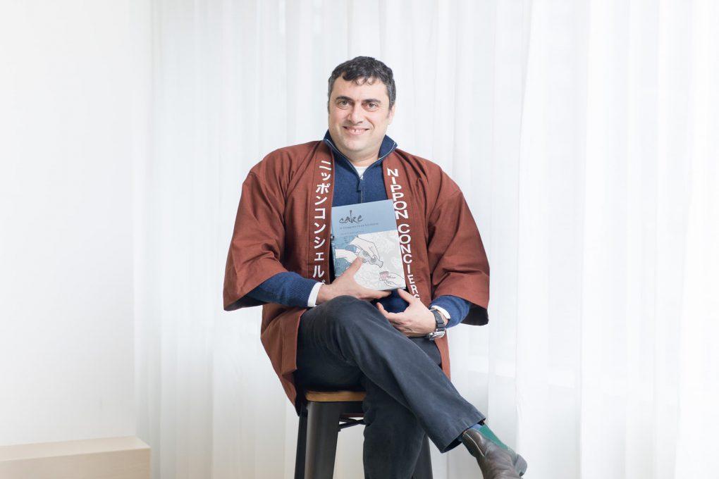 「NIPPON CONCIERGE」代表のMarco Massarotto(マルコ・マッサロット)さん