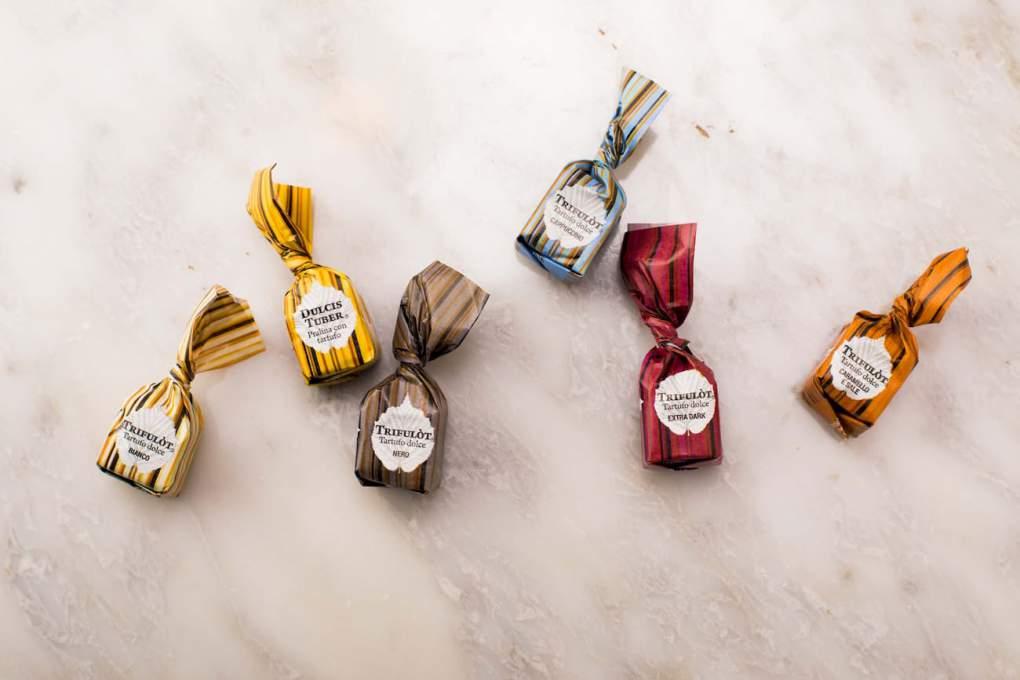 タルトゥフランゲのチョコレート
