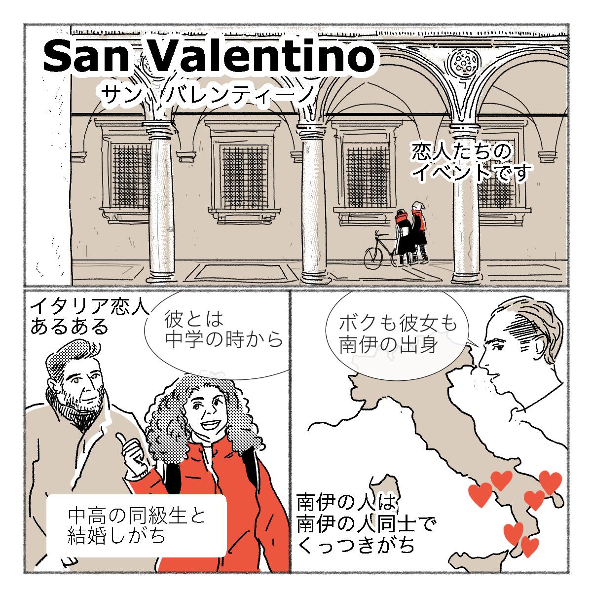 イタリアのバレンタインデー