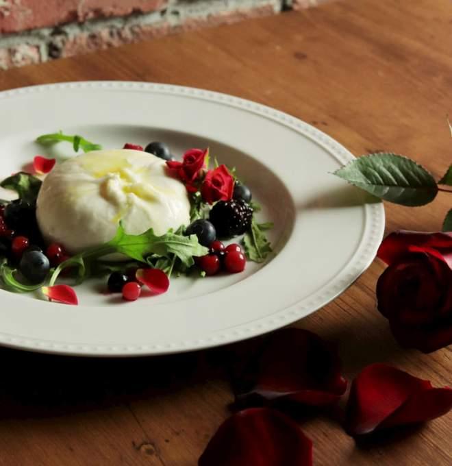 メルカのバレンタインイベント料理