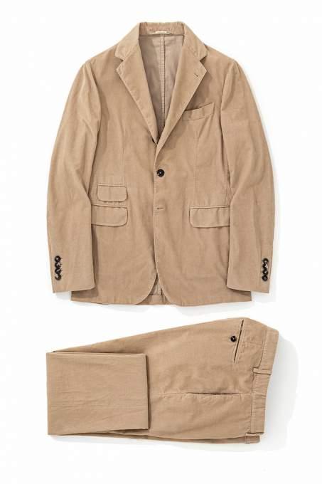 007で使用されたマッシモアルバのスーツ