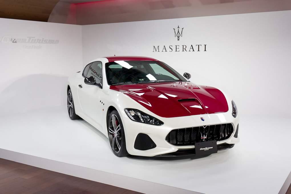 世界に1台しかない特別限定車両「マセラティ グラントゥーリズモ グランフィナーレ」