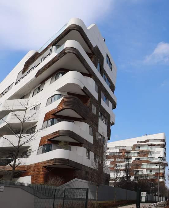 建築家ザハ・ハディットが手掛けたシティライフミラノ