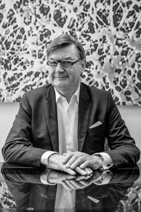 ジェオックス会長 マリオ・モレッティ・ポレガート氏の画像