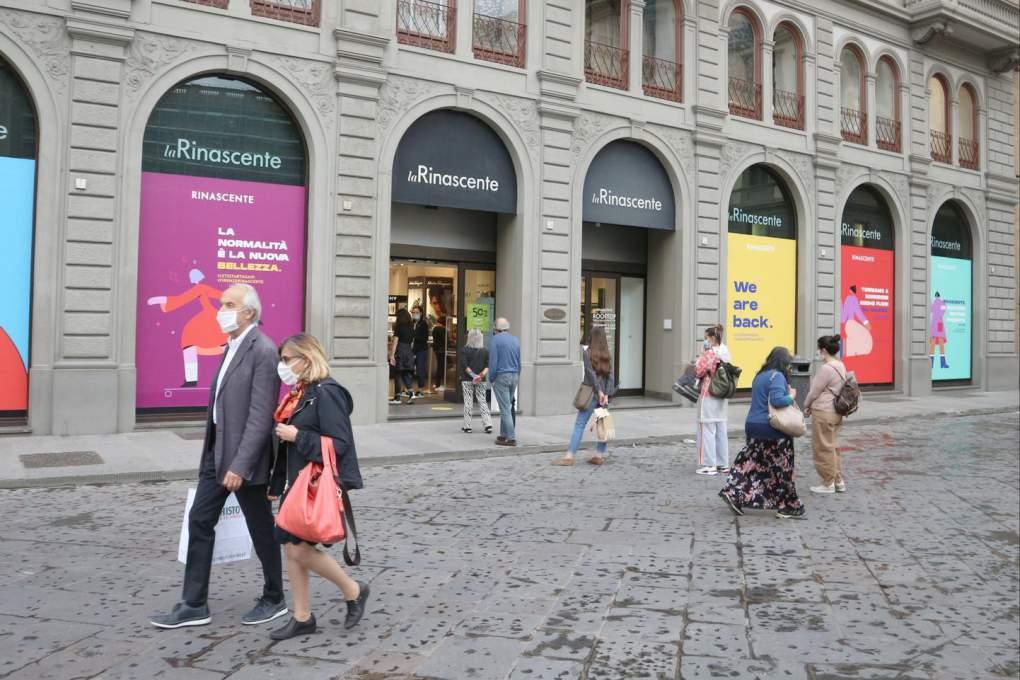 イタリアのデパートLa Rinascente(ラ・リナシェンテ)フィレンツェ店も営業再開