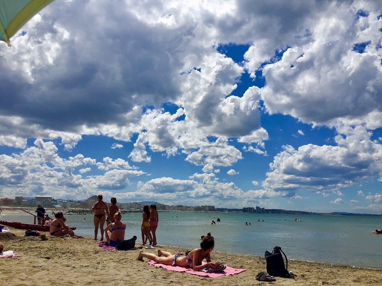 イスラエルのビーチの様子