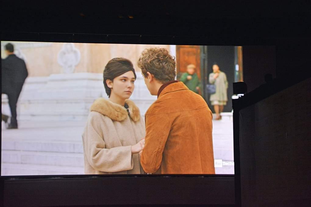 ボローニャ野外映画祭で上映された映画の1シーン