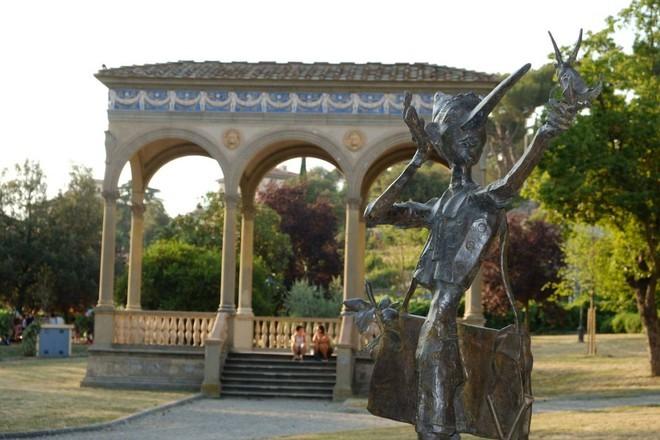 宝ヶ池公園(京都)ピノッキオ像