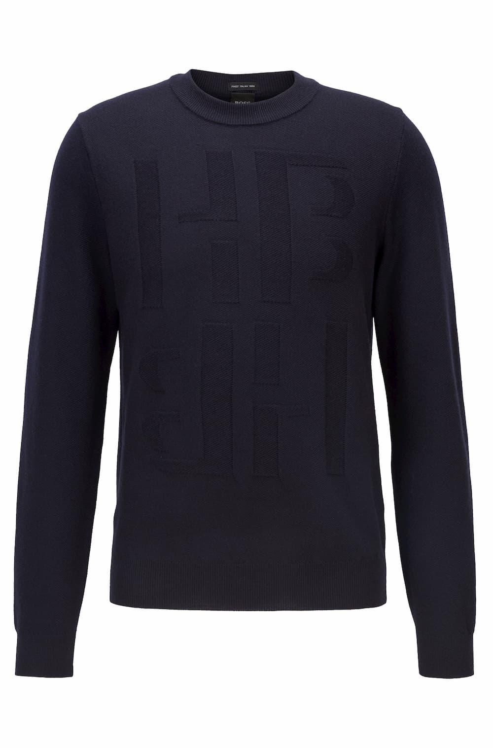 メンズセーター 32,000円(税抜)/BOSS(ボス)