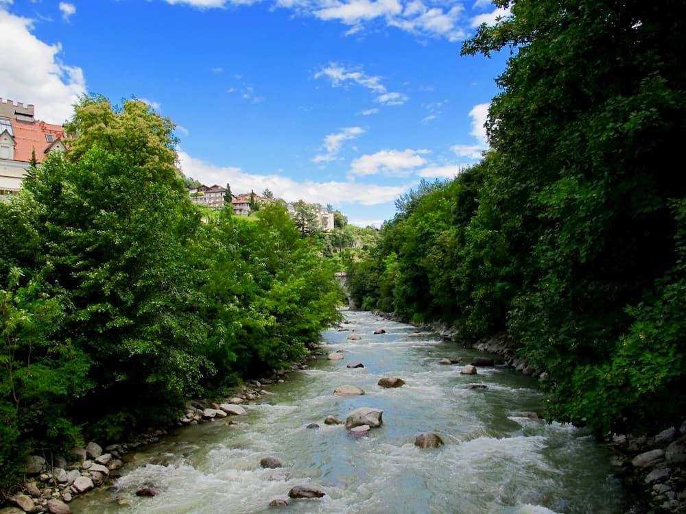 自然のままの河川(ボルツァーノ)