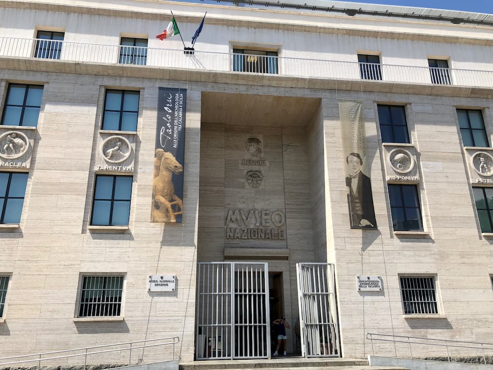 レッジョ・カラーブリア国立考古学博物館設計(1932〜1941年)は、ローマ出身のマルチェッロ・ピアチェンティーニ。テラーニやリベラの合理主義にネオクラシックを融合させる表現を好んだ。