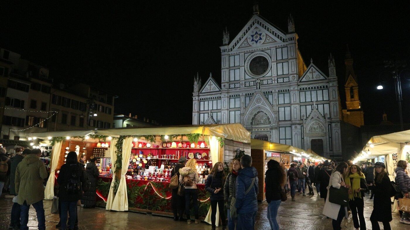 昨年開かれたクリスマスマーケットの様子
