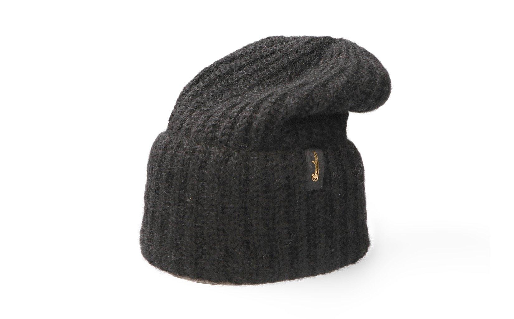 ニット帽 18,000円(税抜)/Borsalino(ボルサリーノ)
