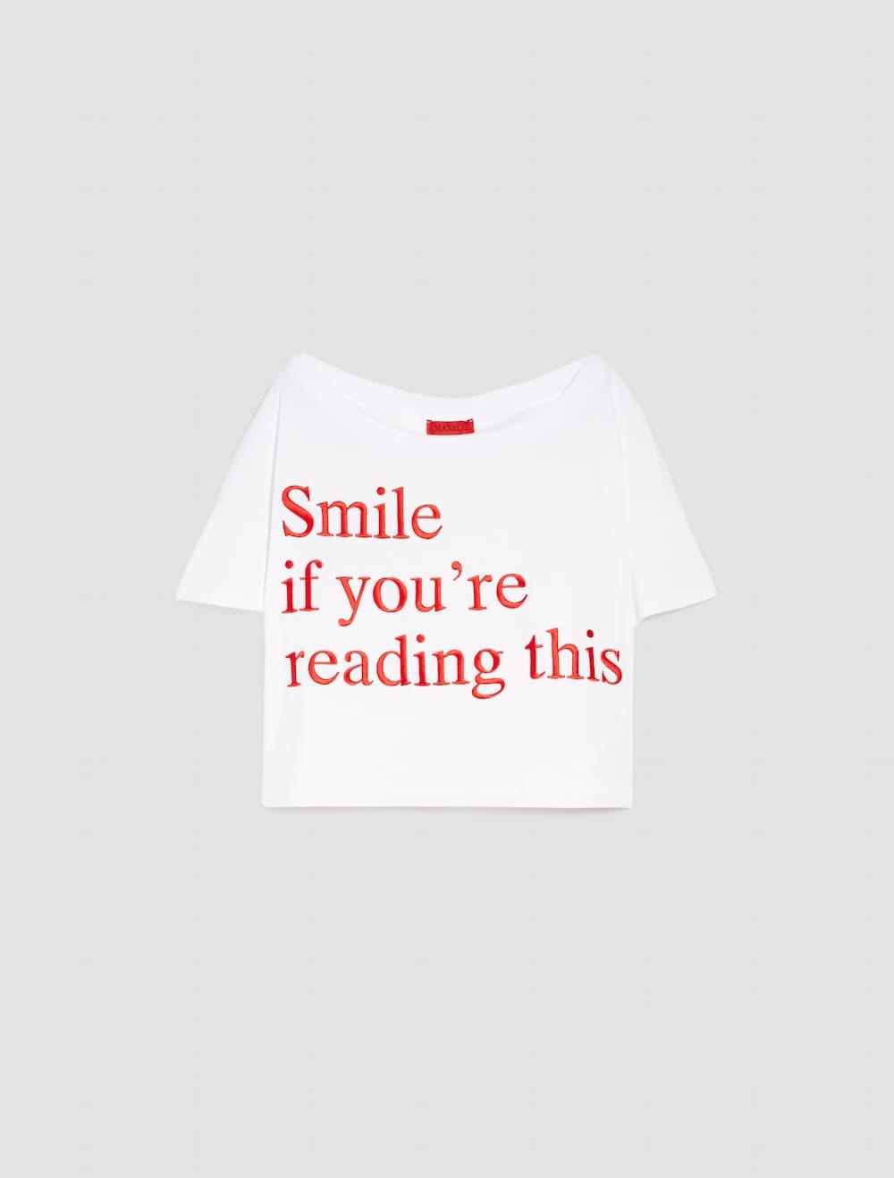 エンブロイダリー グラフィック Tシャツ 14,000円(税抜)/MAX&Co.(マックス アンド コー)