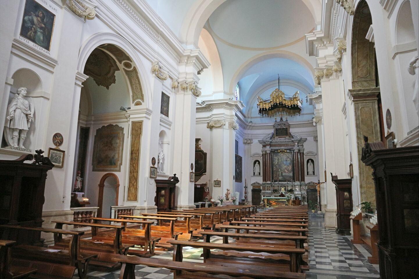 イタリア、テルニ、バレンタイン教会