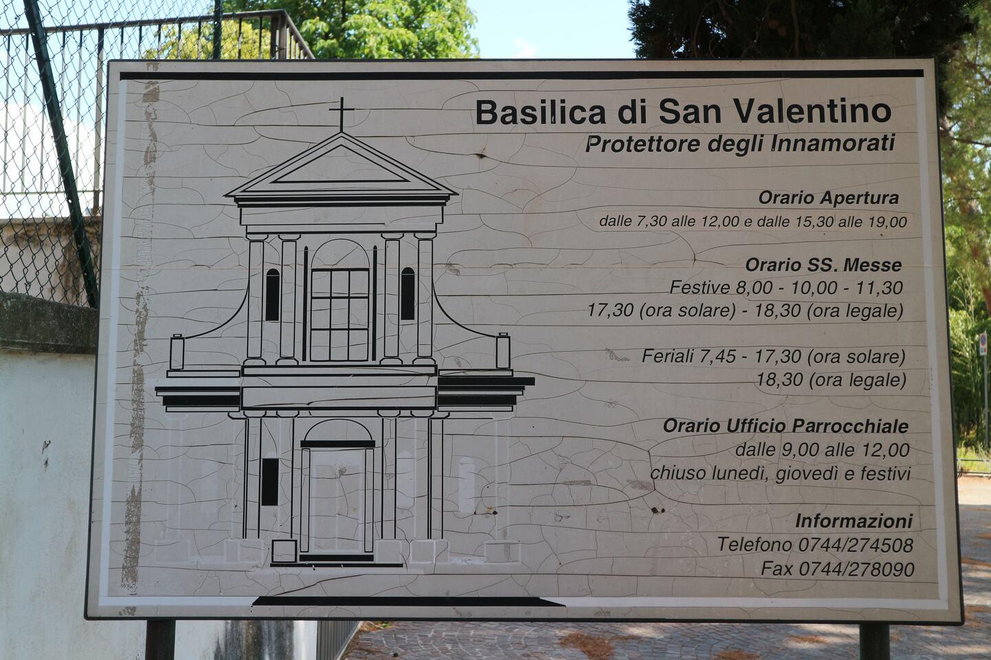 説明には「Protettore degli innamorati=恋人の守護者」と書かれている